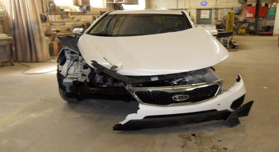 Auto Body Repair Shop - Accident 1
