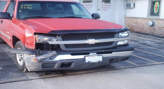 Auto Body Repair Shop - Accident 3